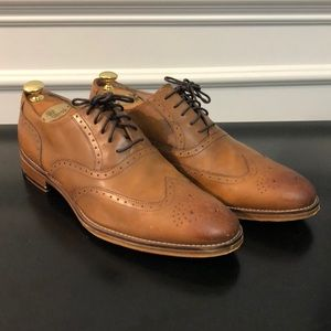 Johnston & Murphy Mens Leather Oxfords Size 12